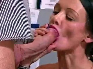 Garage Boss Fucks Brunette Secretary