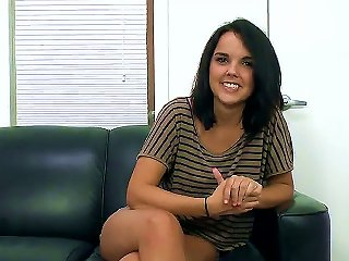 Incredibly Cute Young Slut Dillion Harper Is On Her First Ever Porn Audition And Although She Is A Bit Nervous Quickly She Is Rolling And Starting To