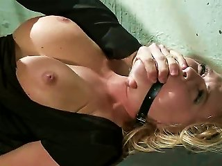 Watch This Stuck Up Business Woman Get Completely Humiliated And Stripped Of All Her Rights While Shes Bound, Sucks Cock And Fucked In The  By The Man
