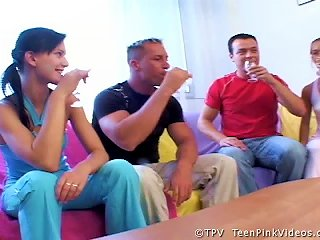& Mili Foursome Swingers  With Fucking