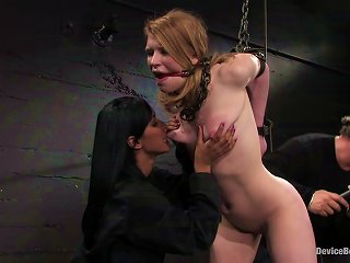 Madison Young Gets Tortured To  In Bdsm Scene